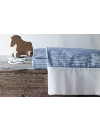 Perry Cot Flat Sheet