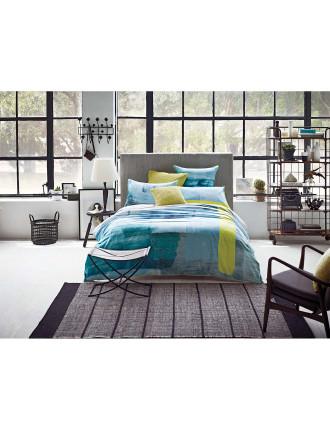Finley Queen Bed Quilt Cover Set