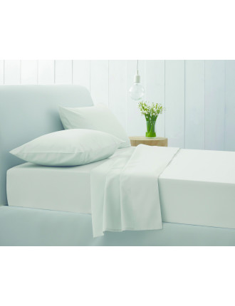 Superfine Twill Queen Bed Fitted Sheet