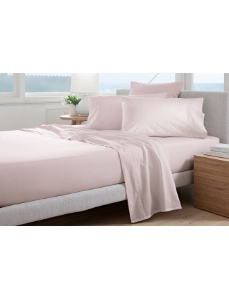 300TC PERCALE QUEEN BED FTD SHEET