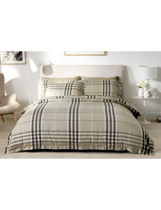 LONGFIELD DOUBLE BED QUILT COVER SET