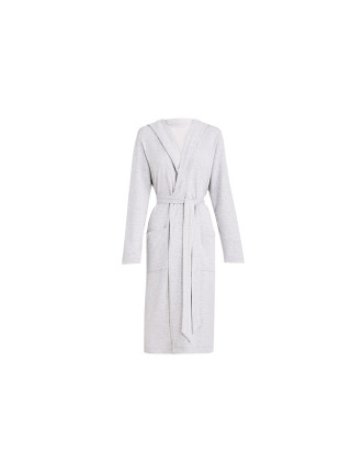 Grayce Brushed Fleece Robe M/L