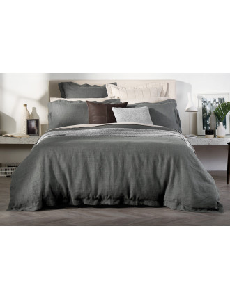 ABBOTSON MARL KING BED QUILT COVER