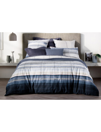HILLSIDE DOUBLE BED QUILT COVER