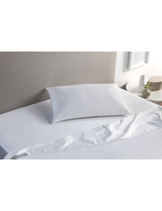 Deluxe Feather & Down Latex Standard Pillow  Medium