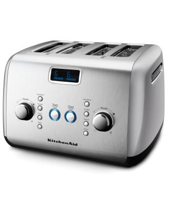 Artisan 4 Slice Toaster Silver