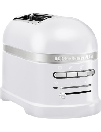 KM2204 Frosted Pearl 2 Slice Toaster - Pro Line Series