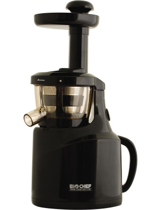 BioChef Silent Cold Press Juicer in Jet Black