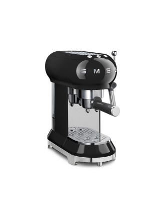 ECF01BLAU Pump Espresso Coffee Machine Black