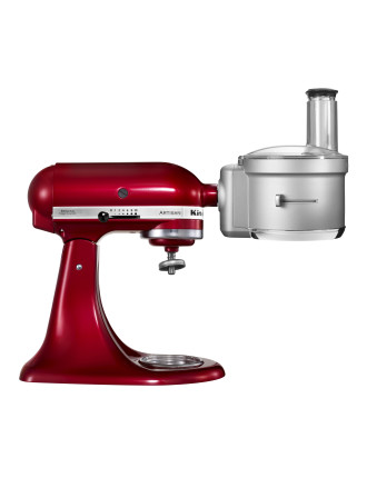 Food Processor Attachment Including Dicing Kit