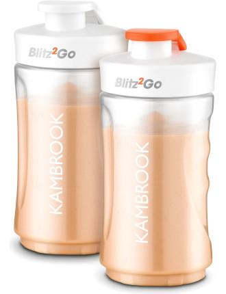 Kbl001 Blitz2go Bottles 300ml Twin Pack