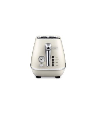 Distinta 2-Slice Toaster in White CTI2003W