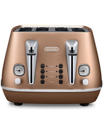 Distinta 4 Slice Toaster in Copper CTI4003CP