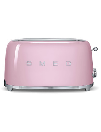 4 Slice Toaster - Pastel Pink