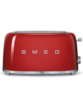 TSF02RDAU -  4 Slice Toaster Red