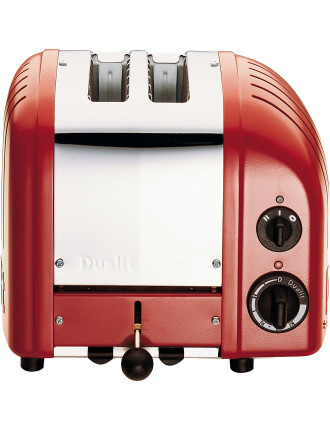 Du02rng - Dualit 2 Slice Newgen Toaster Red