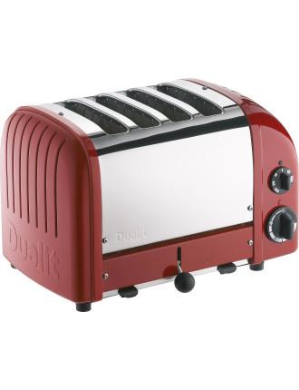 Du04rng - Dualit 4 Slice Newgen Toaster Red