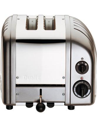 Du02mcng - Dualit 2 Slice Newgen Toaster Metallic Charcoal