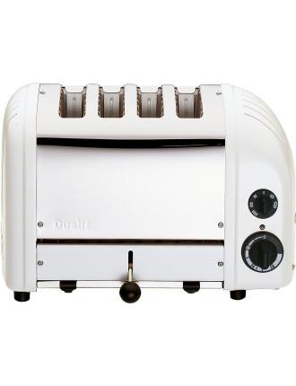 Du04wng - Dualit 4 Slice Newgen Toaster White