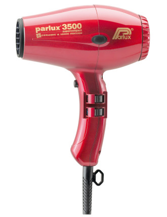149512 - Parlux 3500 Ceramic & Ionic Dryer 2000w Red