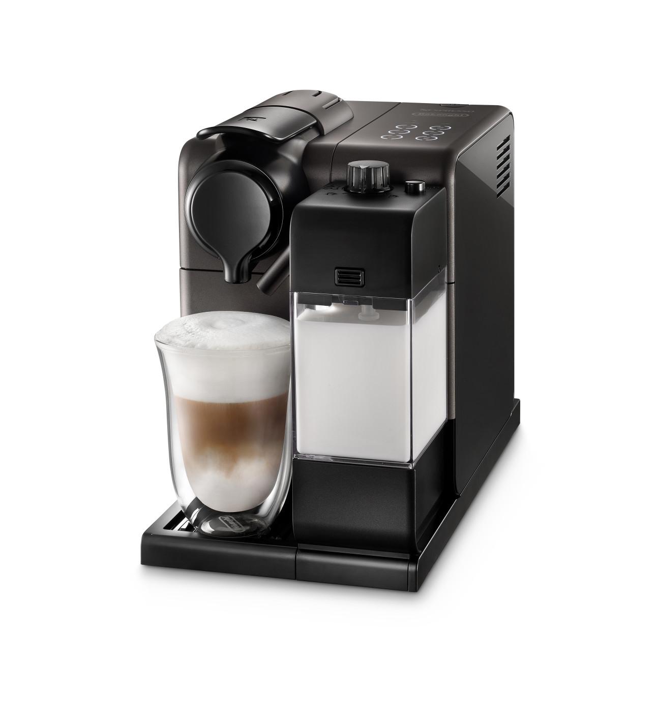 Electronic David Jones Coffee Machines nespresso coffee machines david jones en550bm lattissima touch in black titanium