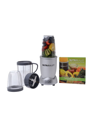 Limited Edition: Nitrate Silver NutriBullet PRO 10pc