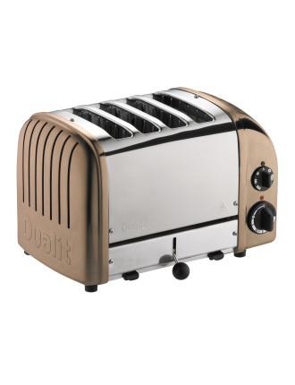 4 Slice Newgen Toaster Copper