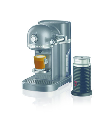 Kitchenaid Nespresso Machine Medallion Silver