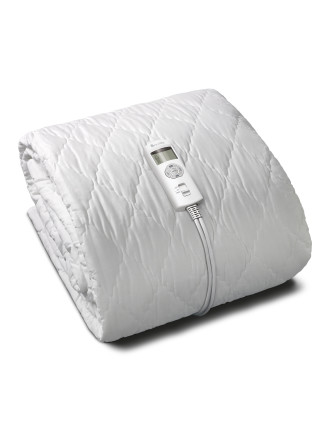 Fitted Electricblanket W/ Removable Quilted Cover-Kingsingle