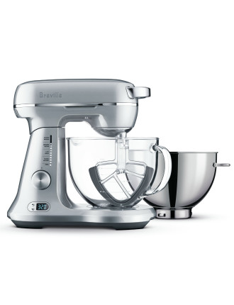 BEM825BAL The Bakery Boss Stand Mixer Silver Pearl