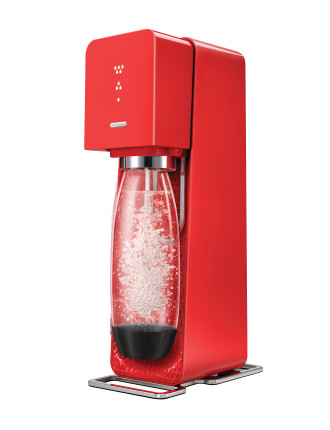 Source Element Sparkling Beverage Maker - Red
