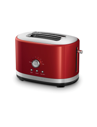 KMT2116 Long Slot 2 Slice Toaster - Red