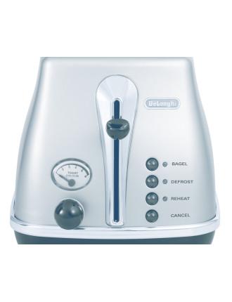 CTO2003S Icona Silver 2 Slice Toaster