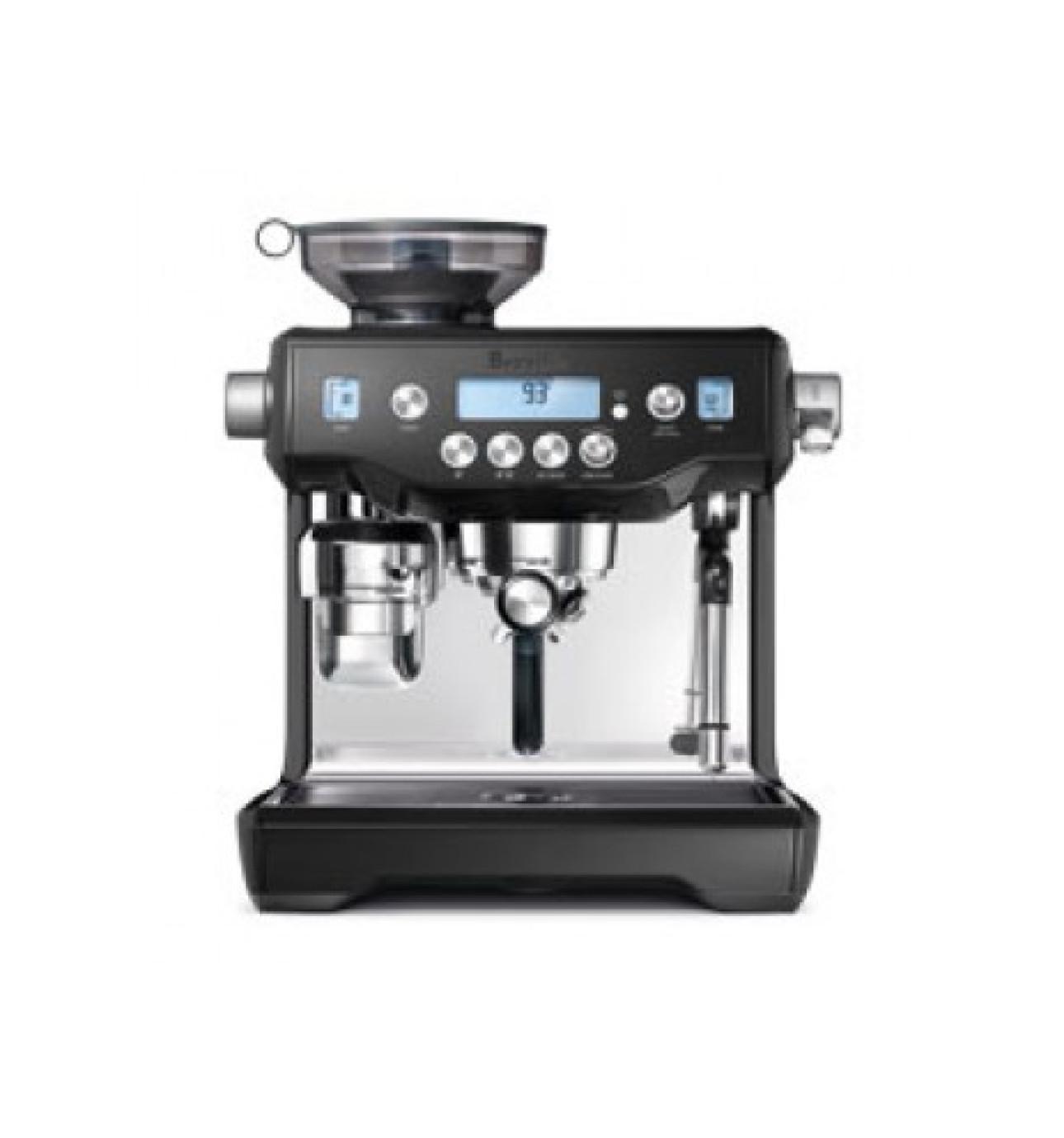 Electronic David Jones Coffee Machines automatic david jones bes980bks the oracle black sesame