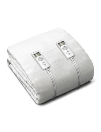 Antibacterial Fitted Electric Blanket - Double