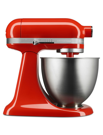 KSM3311 Artisan Mini Stand Mixer - Hot Sauce