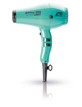 149504 - Parlux 385 Powerlight Ceramic & Ionic Dryer - Aqua