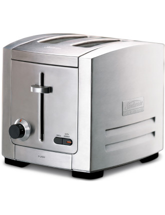 TA9200 Cafe Series 2-Slice Brushed Toaster