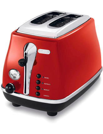 CTO2003R 2-Slice Red Toaster