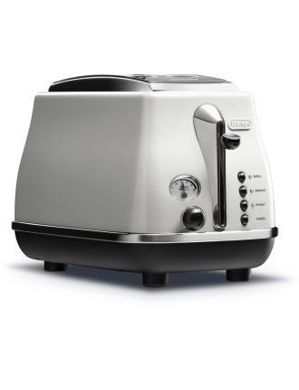 CTO2003W 2 Slice White Toaster