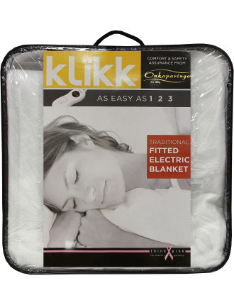 Traditional Fitted King Bed Electric Blanket