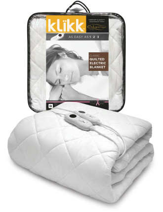 Classic Quilted Electric Blanket Qb