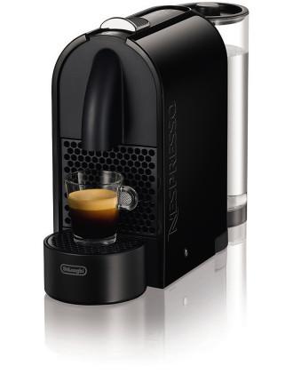 Nespresso 'U' Pure Black Solo - Excluding Aeroccino