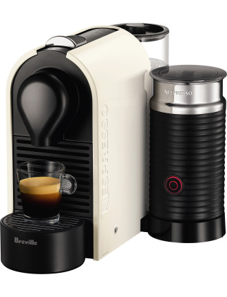 NESPRESSO BEC300MW U Milk Coffee Machine White