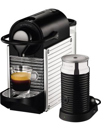 Nespresso Bec400xs Pixie Bundle Stainless Steel