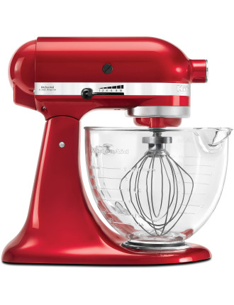 KSM156 Platinum Collection Stand Mixer Candy Apple Red