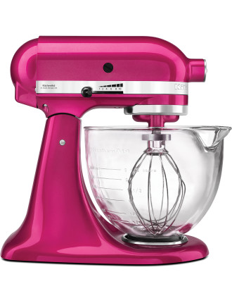 KSM156 Platinum Collection Stand Mixer Raspberry Ice