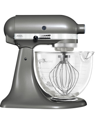 KSM156 Platinum Collection Stand Mixer Medallion Silver