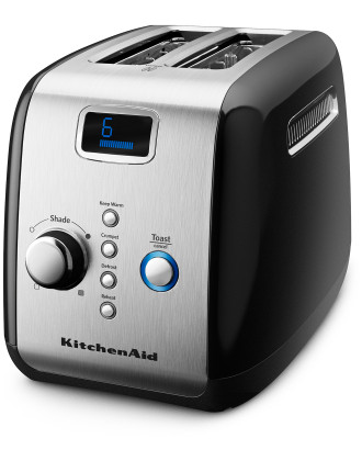 KMT223 2 Slice Black Toaster