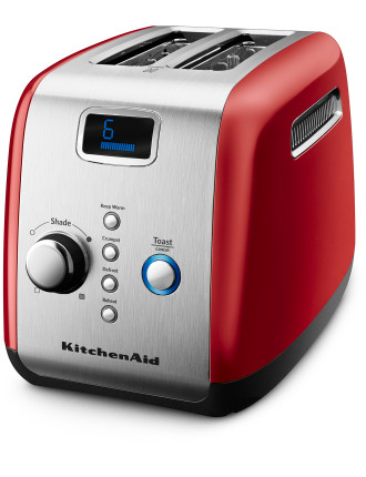 KMT223 2 Slice Red Toaster